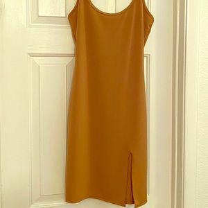 Caramel Mini dress